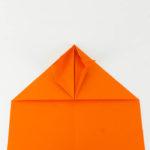 Den Habicht Papierflieger falten Anleitung - Schritt 14