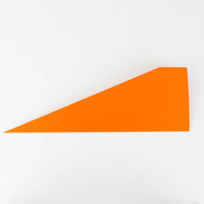 Die Flügel des Papierflieger Pfeils falten - Für Anfänger