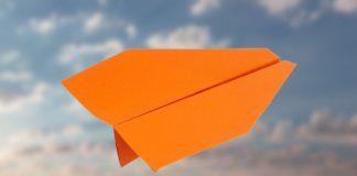 Stump Dart- Papierflieger Bastelnanleitung - Papierflieger Gleiter falten und basteln