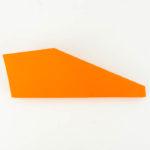 Eine Papierflieger Bastelanleitung - Stump Dart falten