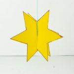 Einen Stern mit Kindern basteln - Sterne basteln - Basteln mit Kindern