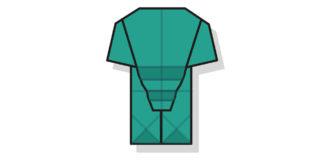 Origami Elefant falten - Thumbnail