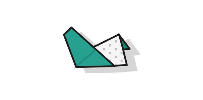 Origami Henne falten - Thumbnail