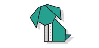 Origami Hund falten - Thumbnail