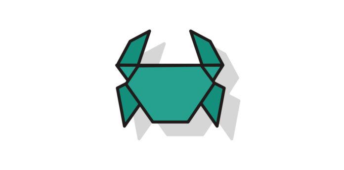 Origami Krebs falten - Thumbnail