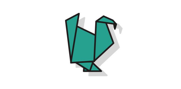 Origami Thruthahn falten - Thumbnail