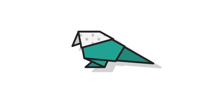 Origami Vogel falten Thumbnail