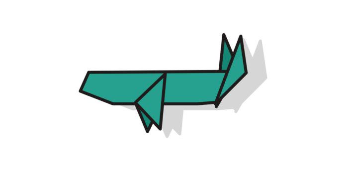 Origami Wal falten - Thumbnail