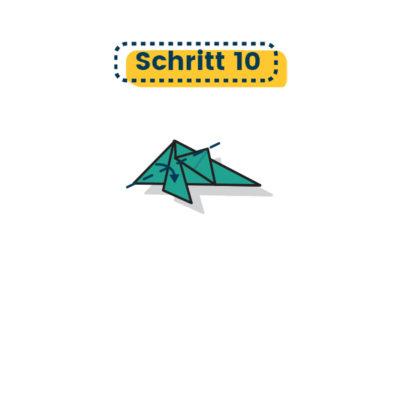 Origami Delfin falten 10