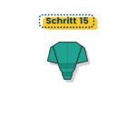 Origami Elefant falten 15