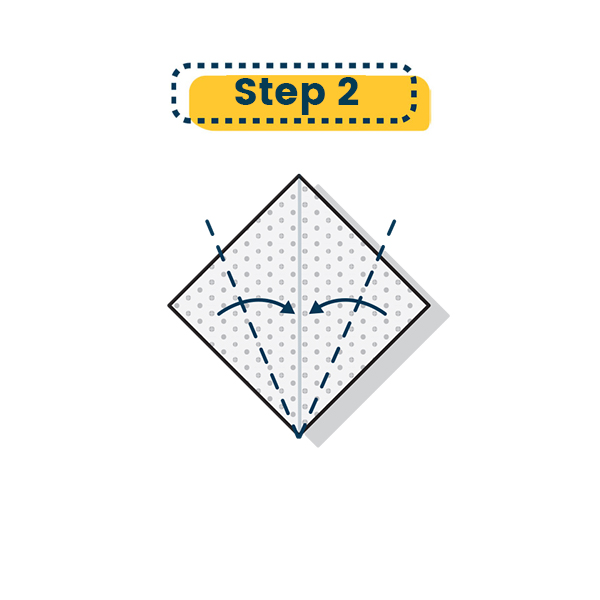 Origami Henne falten 04