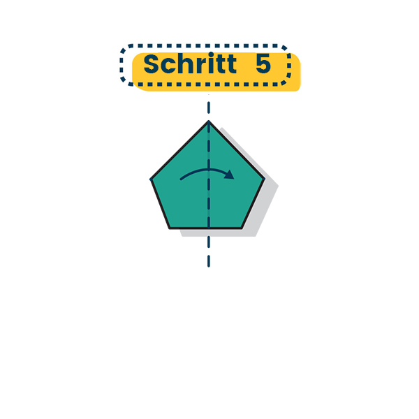 Origami Henne falten 05