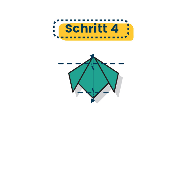 Origami Hund falten 12