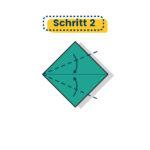 Origami Kranich falten 02