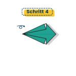 Origami Kranich falten 04