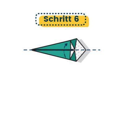 Origami Kranich falten 06