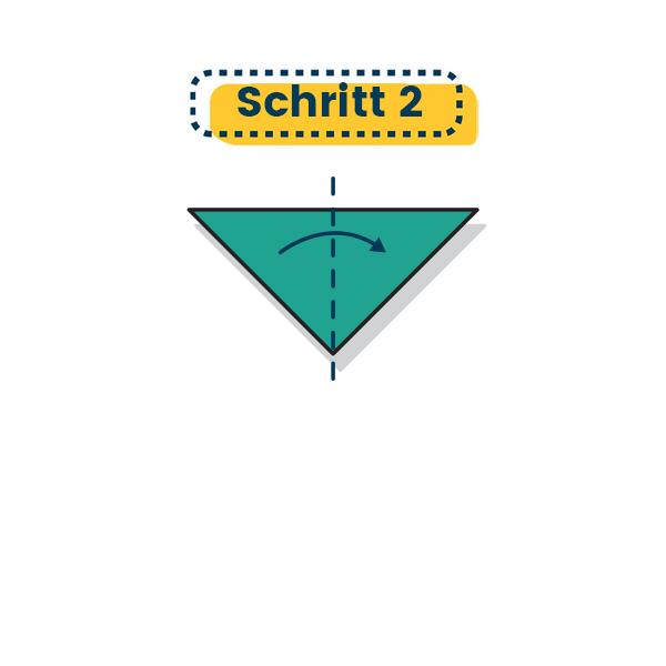 Origami Marienkäfer falten 06
