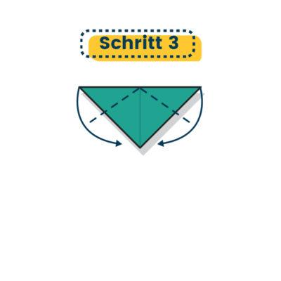 Origami Marienkäfer falten 03