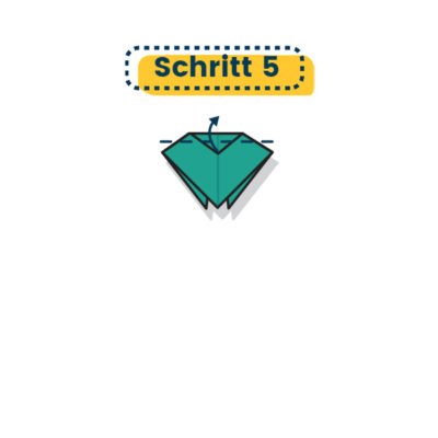 Origami Marienkäfer falten 05