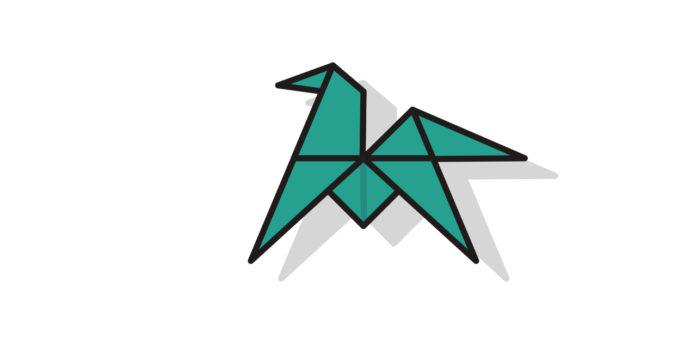 Origami Pferd falten - Thumbnail