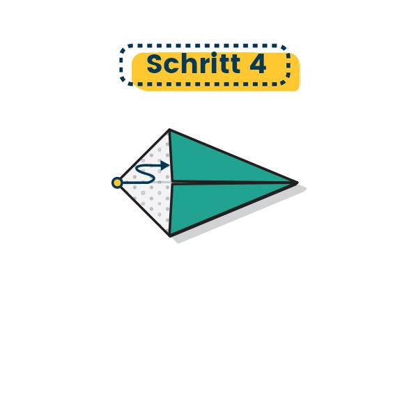 Origami Rochen falten 07