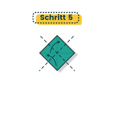 Origami Schale falten 05
