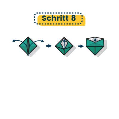 Origami Schale falten 08