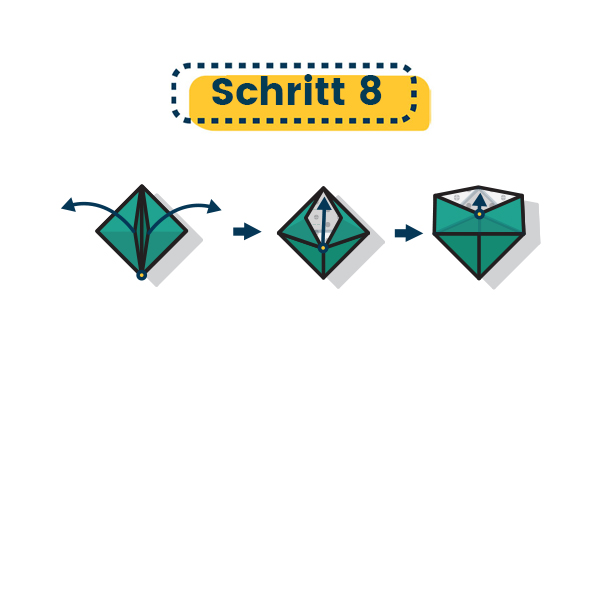 Origami Schale falten 18