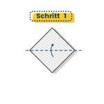 Origami Schwalbe falten 01