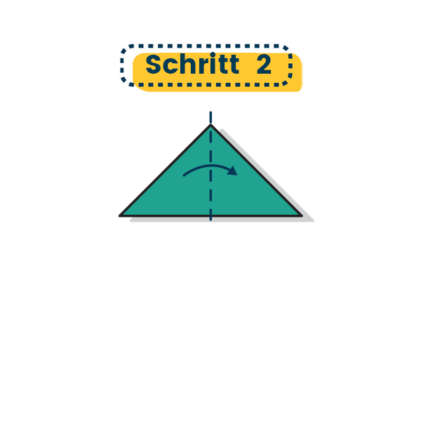 Origami Schwalbe falten 05