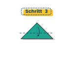 Origami Schwalbe falten 03