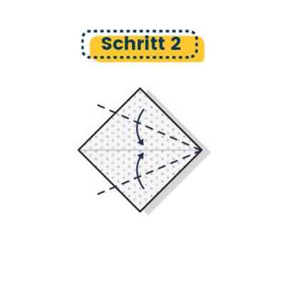 Origami Schwan falten 02