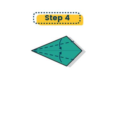 Origami Schwan falten 04
