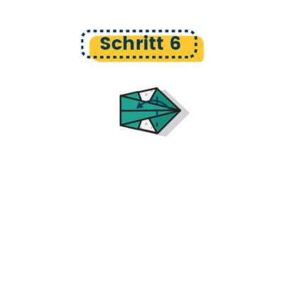 Origami Schwan falten 06