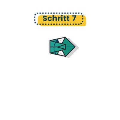 Origami Schwan falten 07