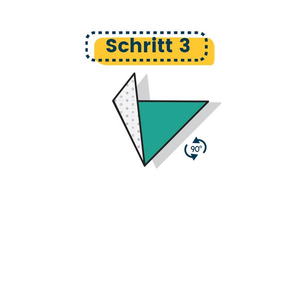 Origami Segelboot falten - Schritt 03