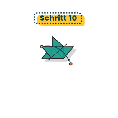 Origami Stern falten 10