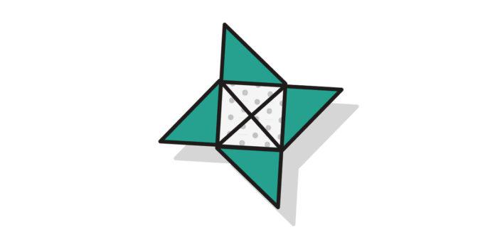 Origami Stern falten 2 - Thumbnail