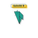 Origami Truthahn falten 008
