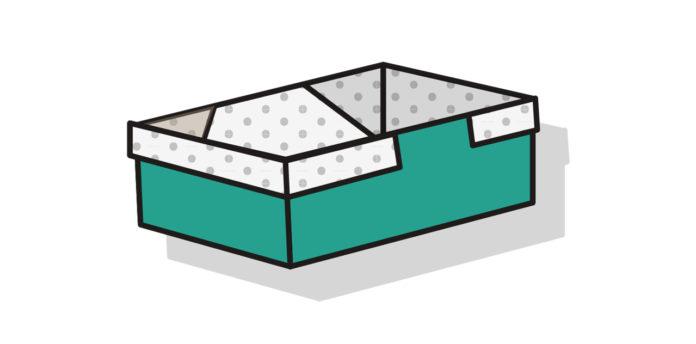 Rechteckige Origami Box 2 falten - Thumbnail