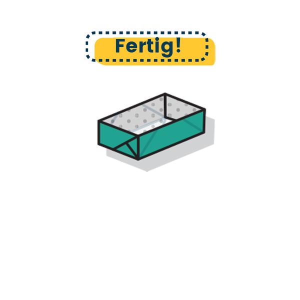 rechteckige Origami Schachtel 10